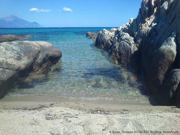 A beach called mine